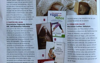 La revista especializada en yoga; Yoga Journal, recomienda el GuíaBurros: Yoga con calor, de Macarena Cutillas